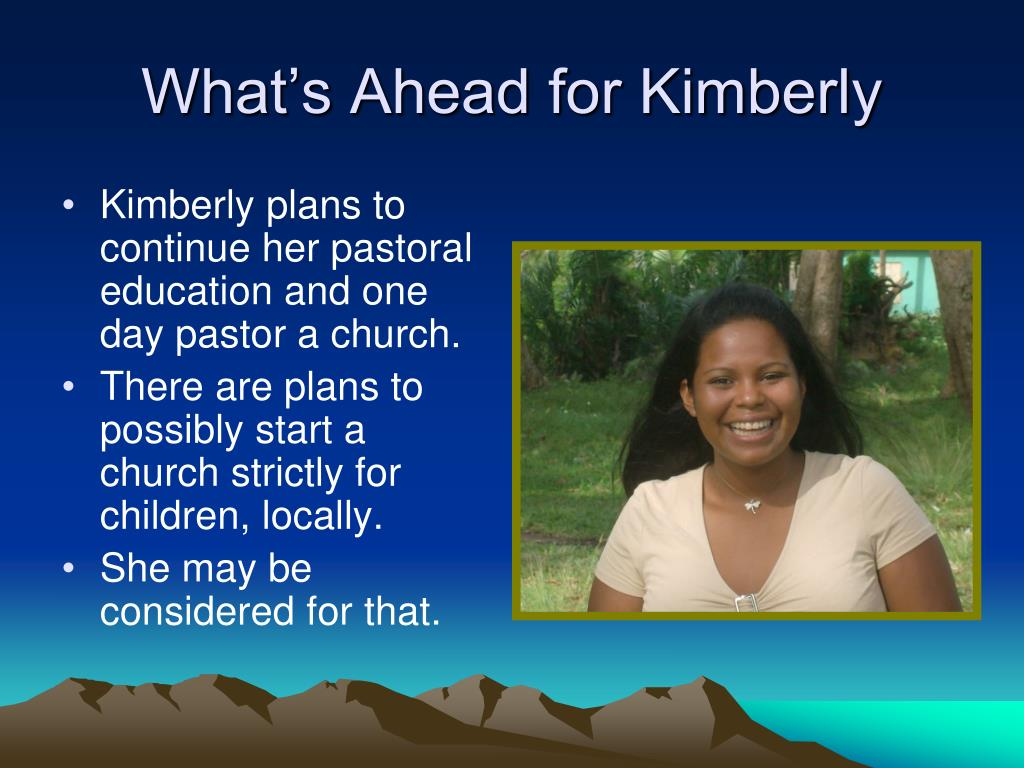 What's Ahead for Kimberly