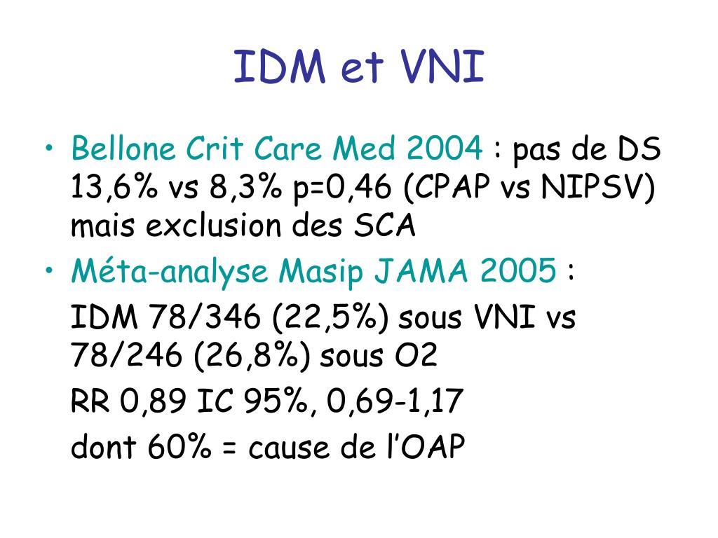 IDM et VNI