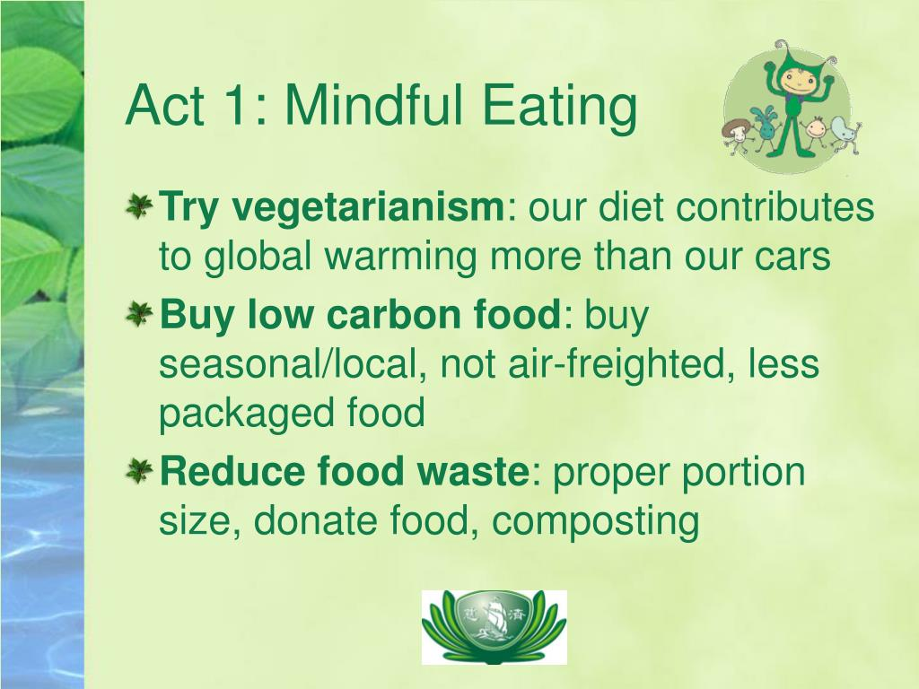 Act 1: Mindful Eating