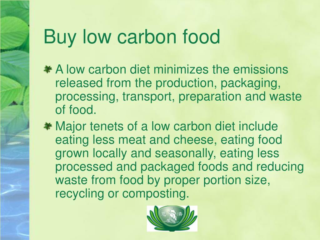 Buy low carbon food
