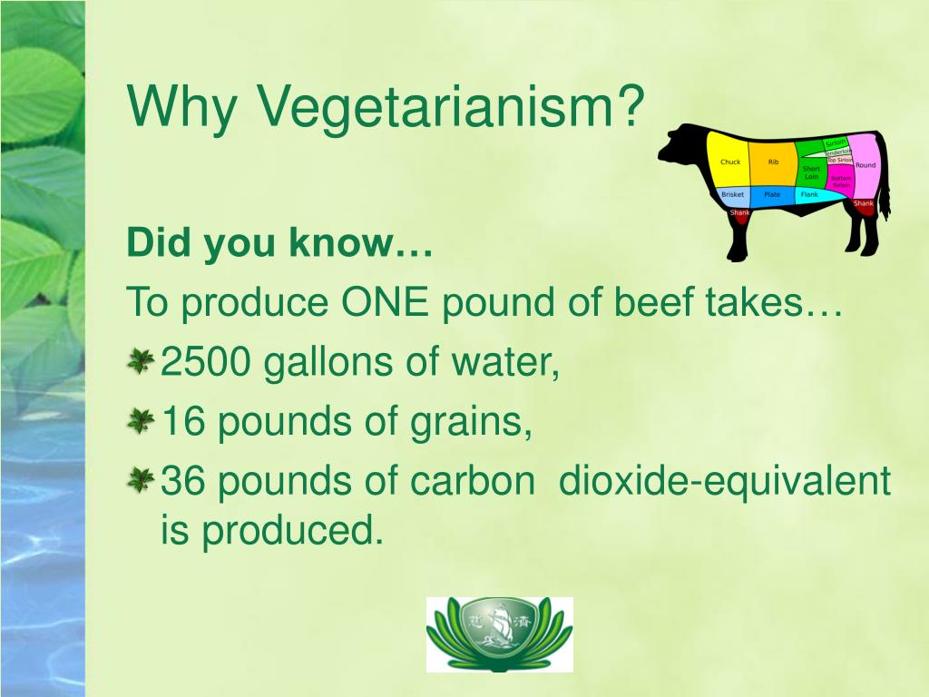 Why Vegetarianism?