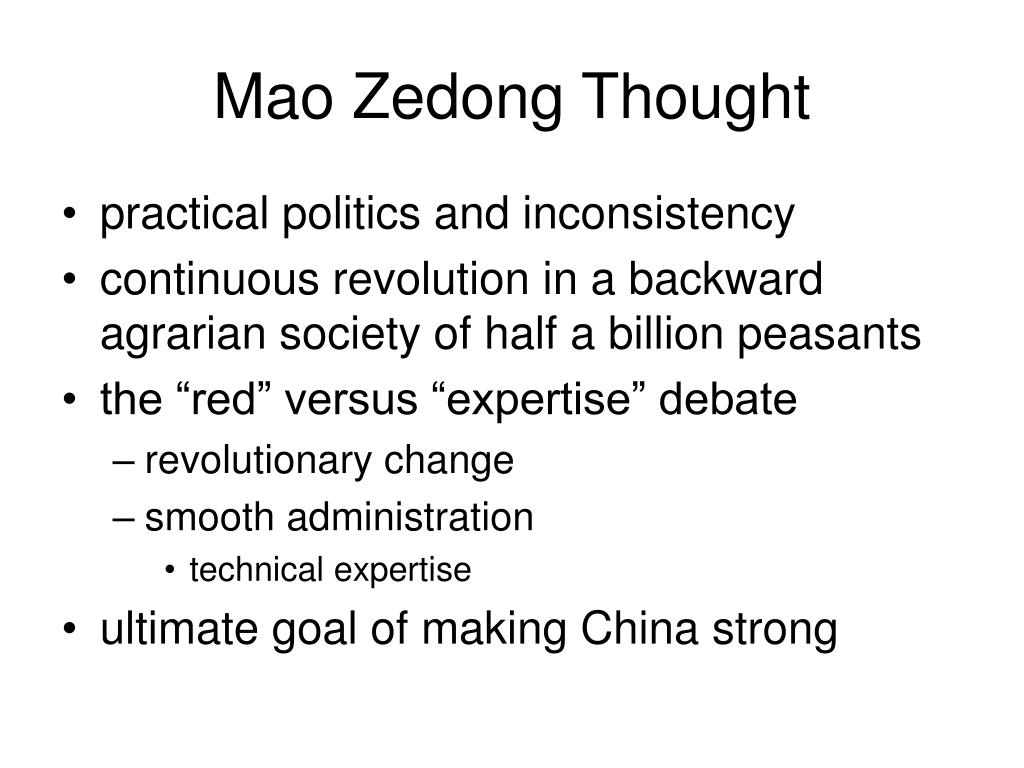 Mao Zedong Thought