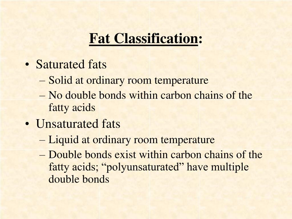 Fat Classification
