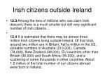 irish citizens outside ireland