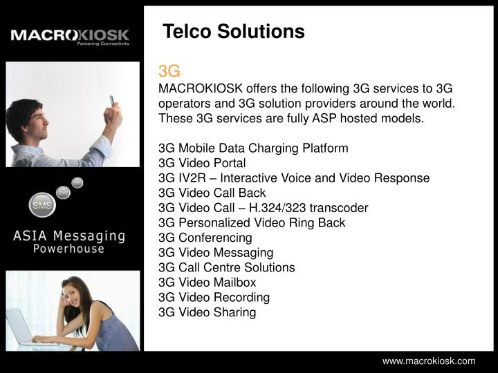Telco Solutions