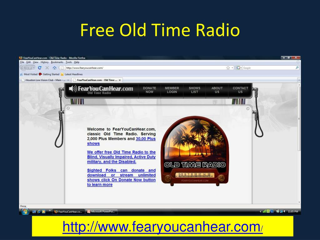 Free Old Time Radio