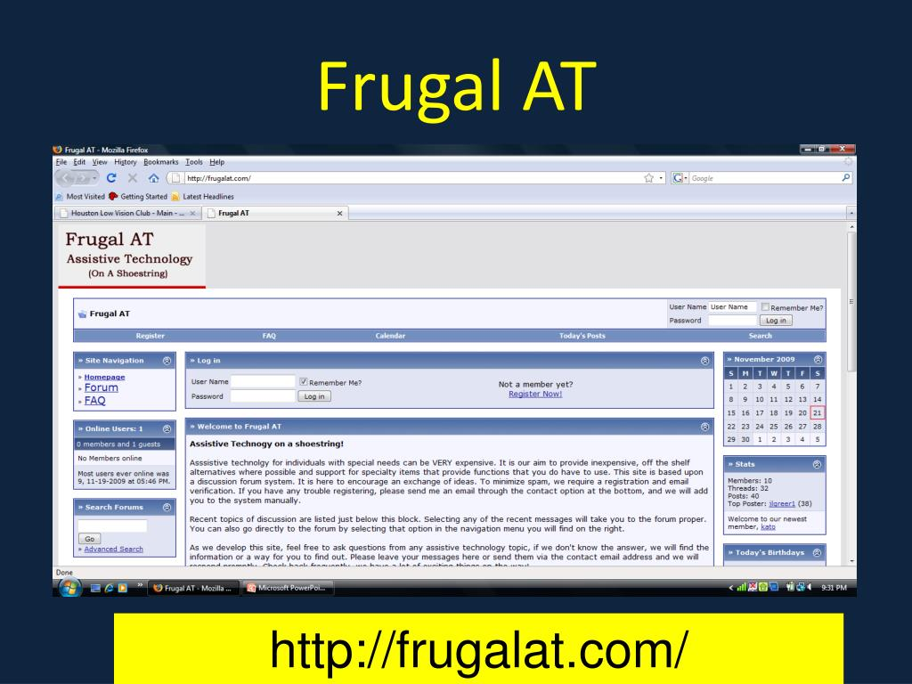 Frugal AT