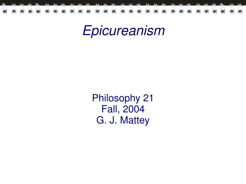 Philosophy 21
