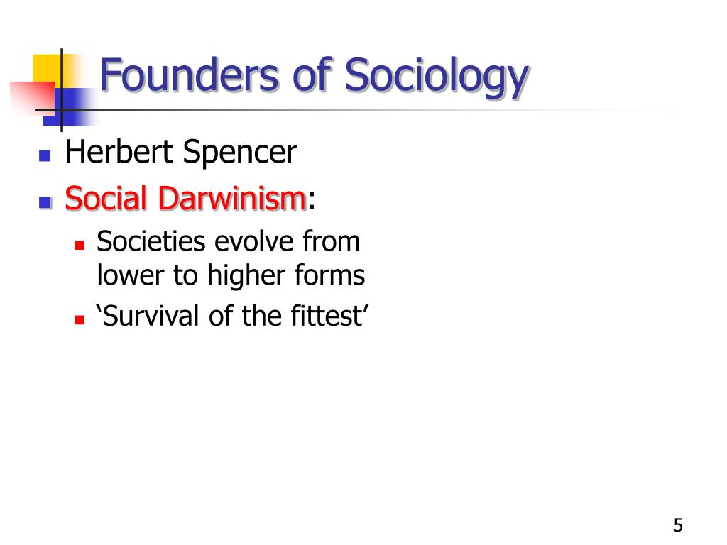 Founders of Sociology