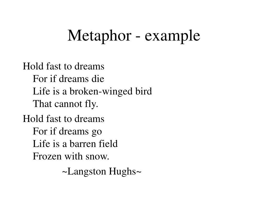 Metaphor - example