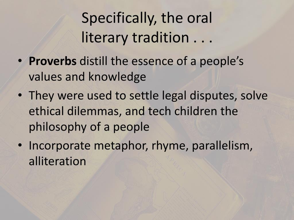Specifically, the oral