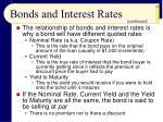 bonds and interest rates63