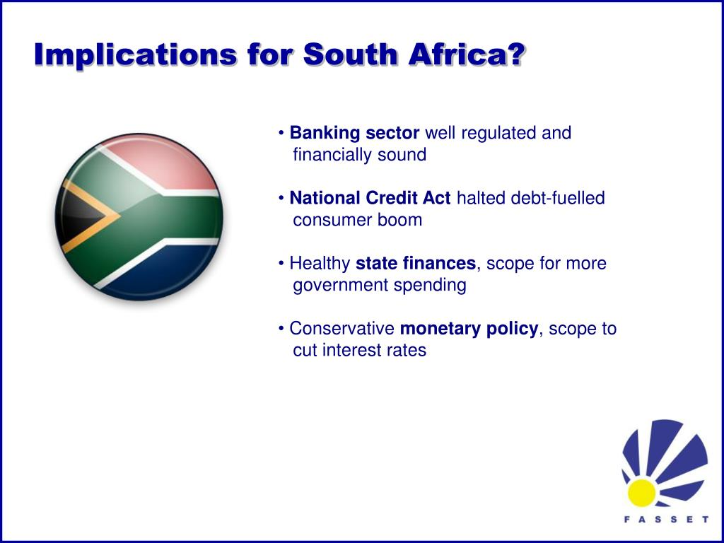 Implications for South Africa?