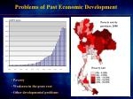 problems of past economic development
