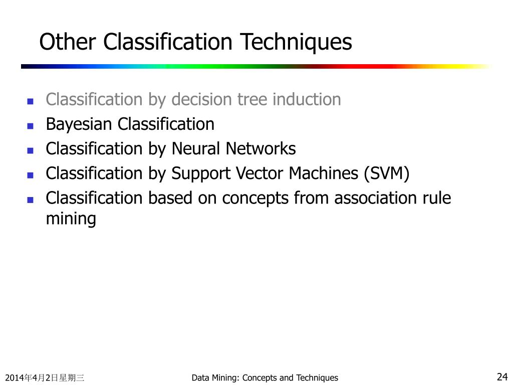 Other Classification Techniques
