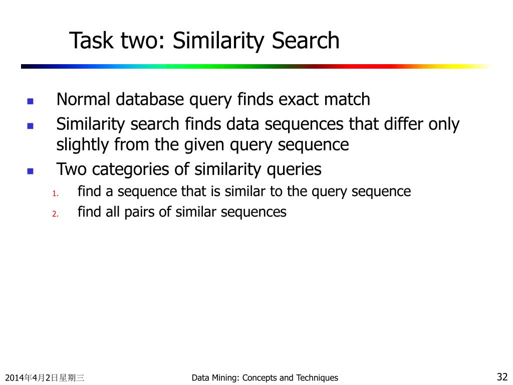 Task two: Similarity Search
