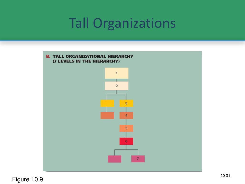 Tall Organizations