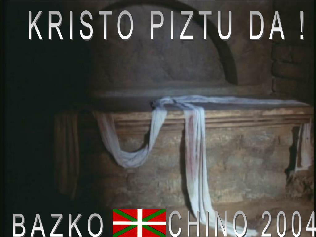 KRISTO PIZTU DA !