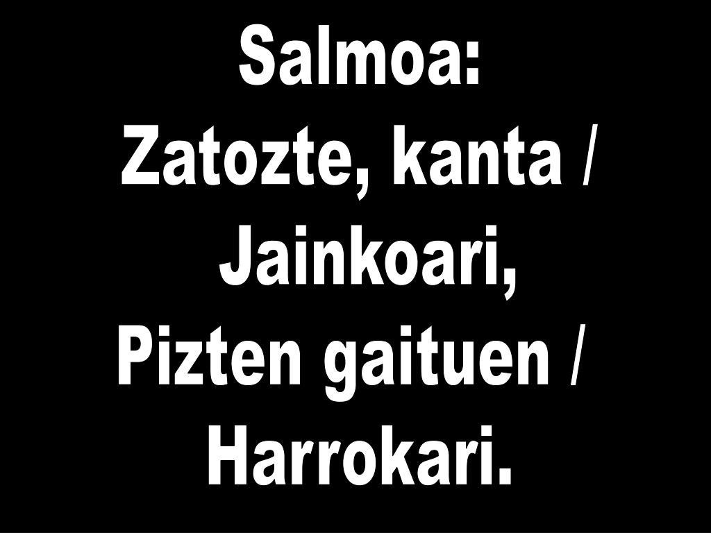 Salmoa: