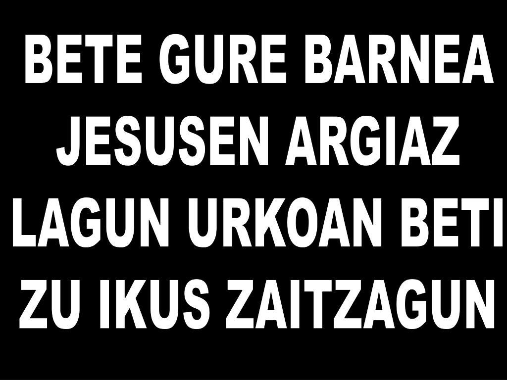 BETE GURE BARNEA