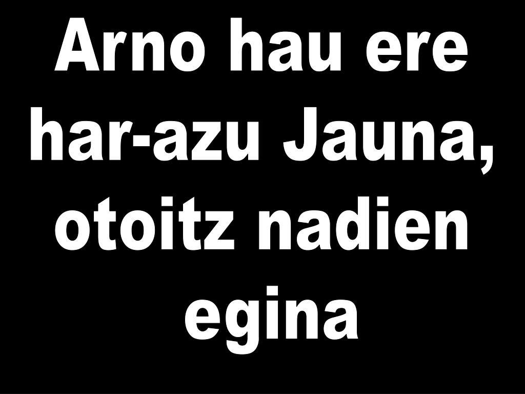 Arno hau ere
