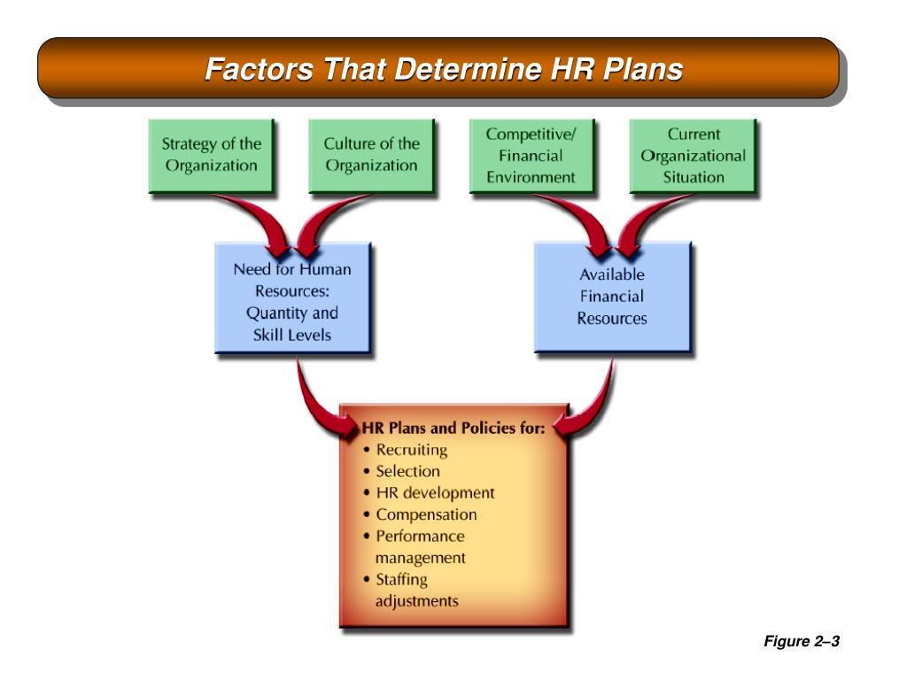 Factors That Determine HR Plans