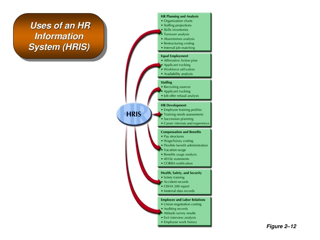 Uses of an HR Information System (HRIS)