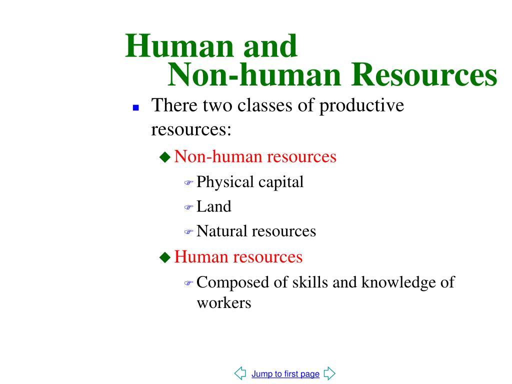 Human and