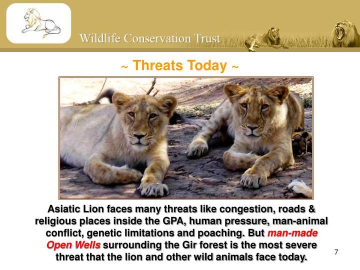 ~ Threats Today ~
