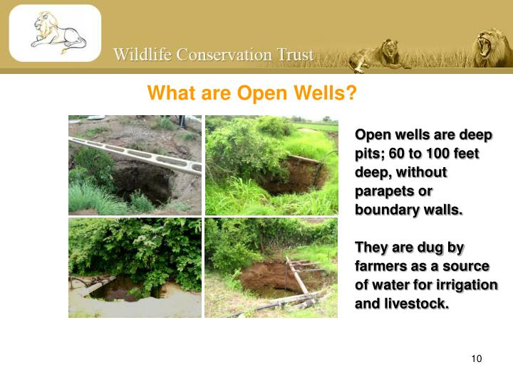 What are Open Wells?