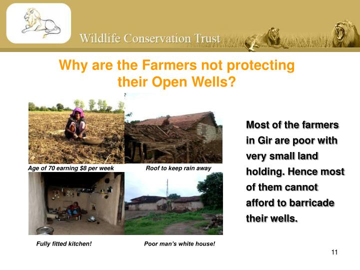 Why are the Farmers not protecting