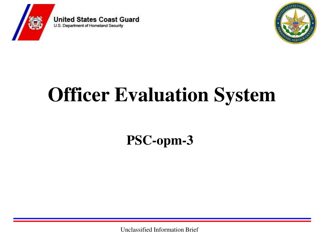 Officer Evaluation System