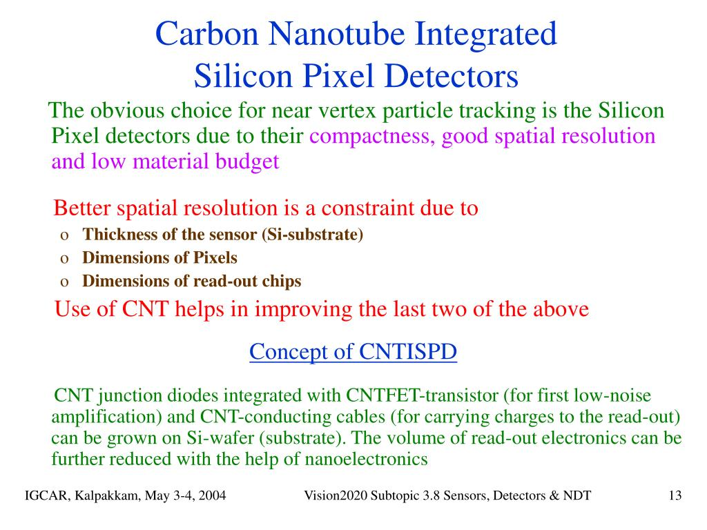 Carbon Nanotube Integrated