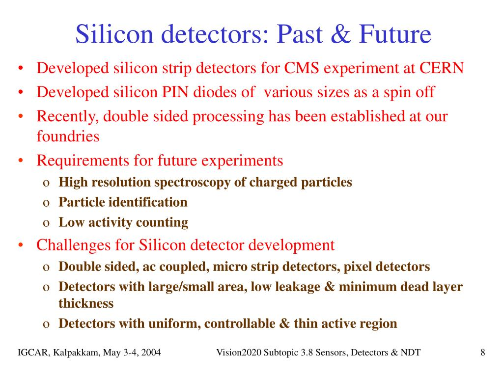 Silicon detectors: Past & Future