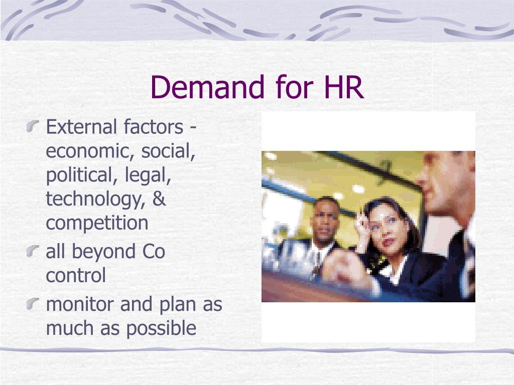 Demand for HR