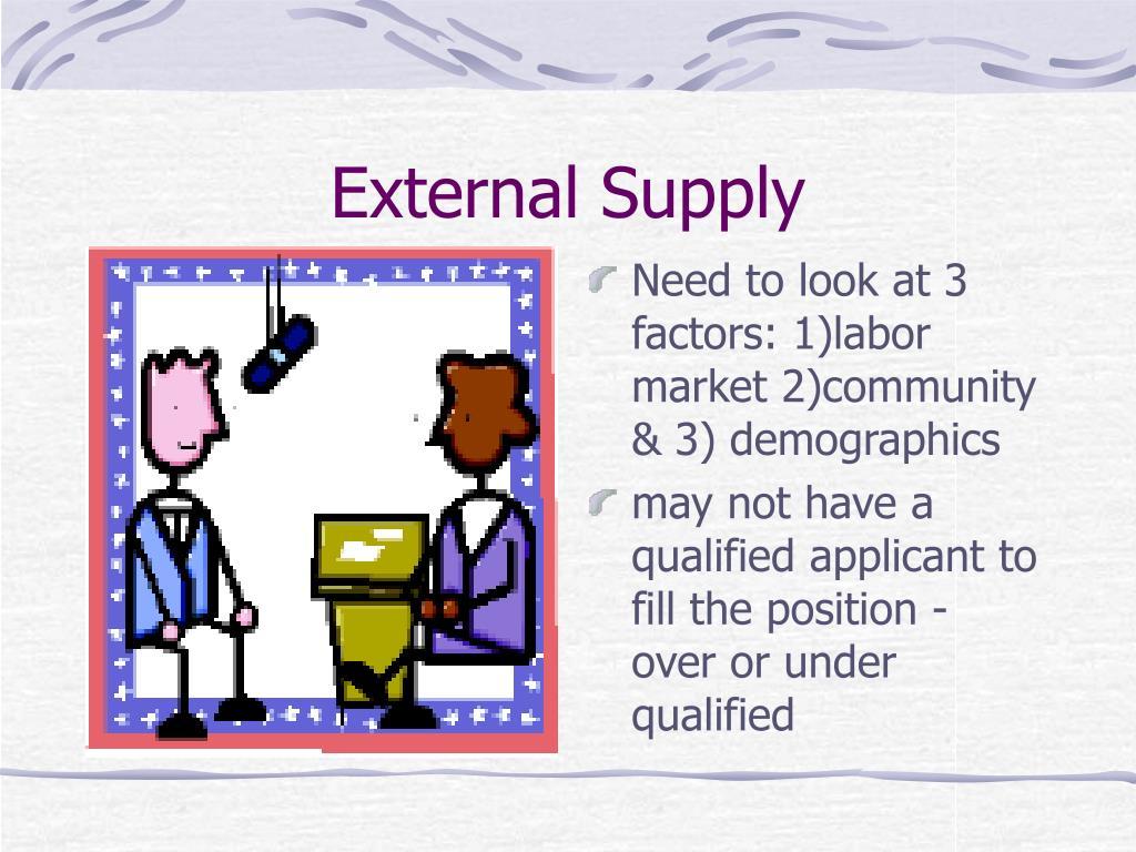 External Supply