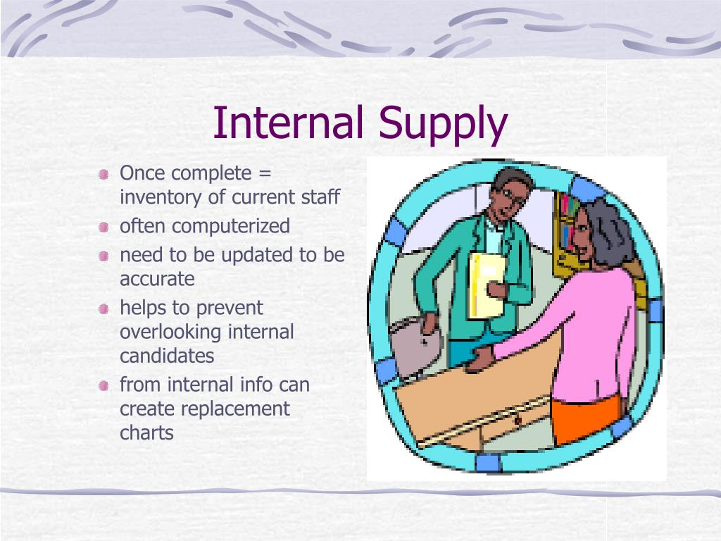 Internal Supply