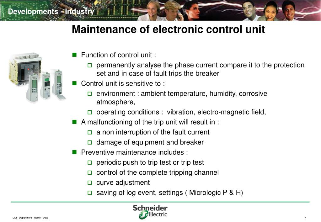 Maintenance of electronic control unit