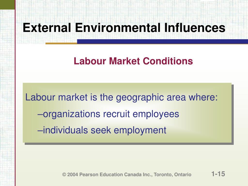 Labour Market Conditions