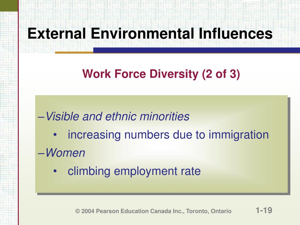 Work Force Diversity (2 of 3)