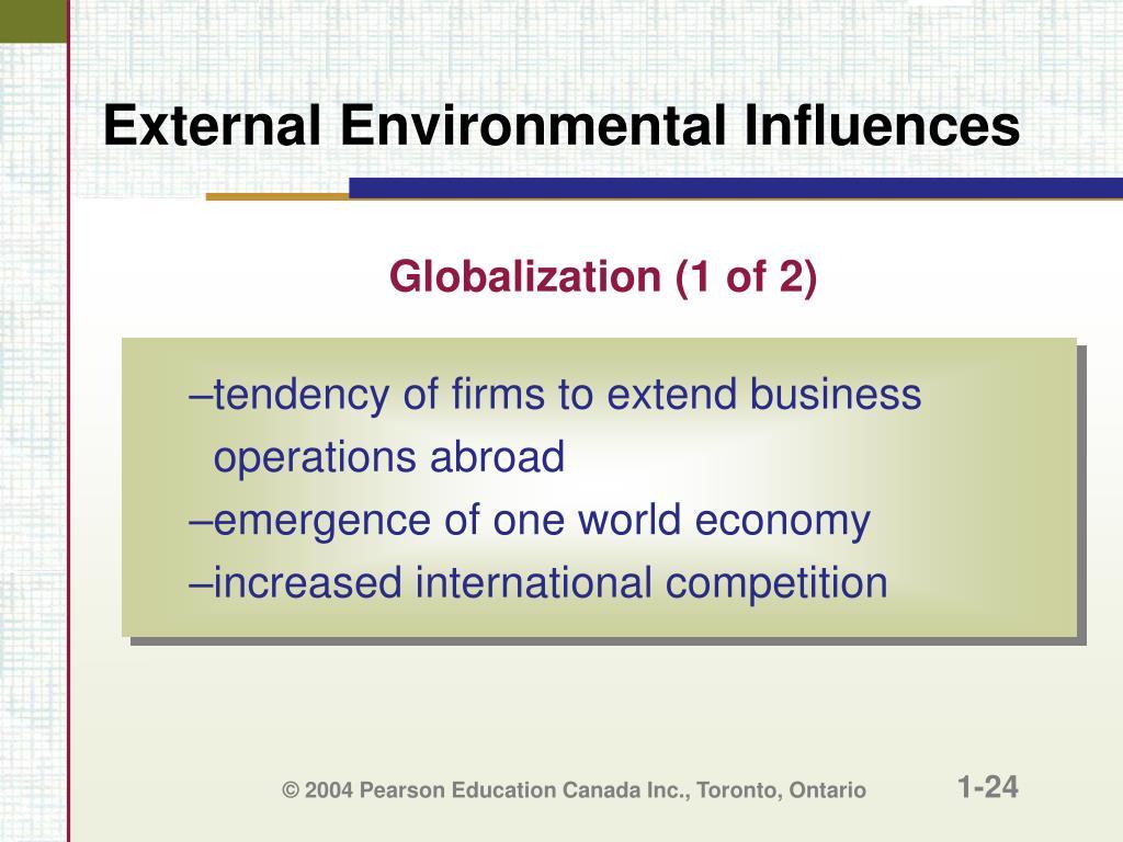 Globalization (1 of 2)