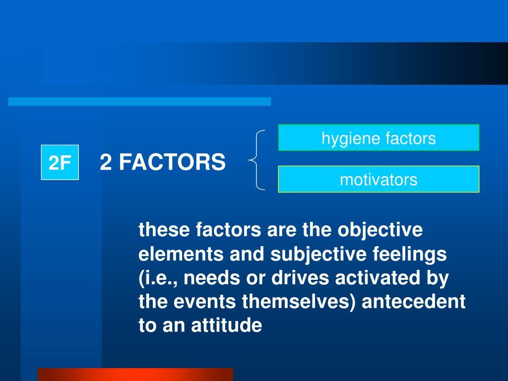 2 FACTORS