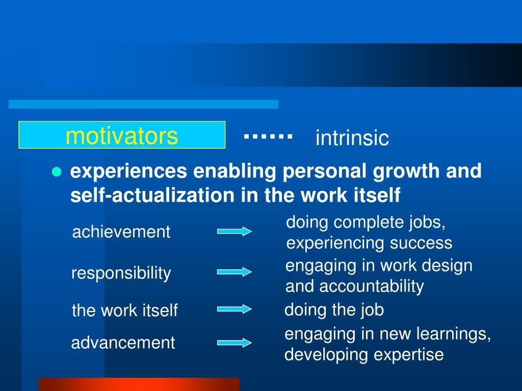 motivators