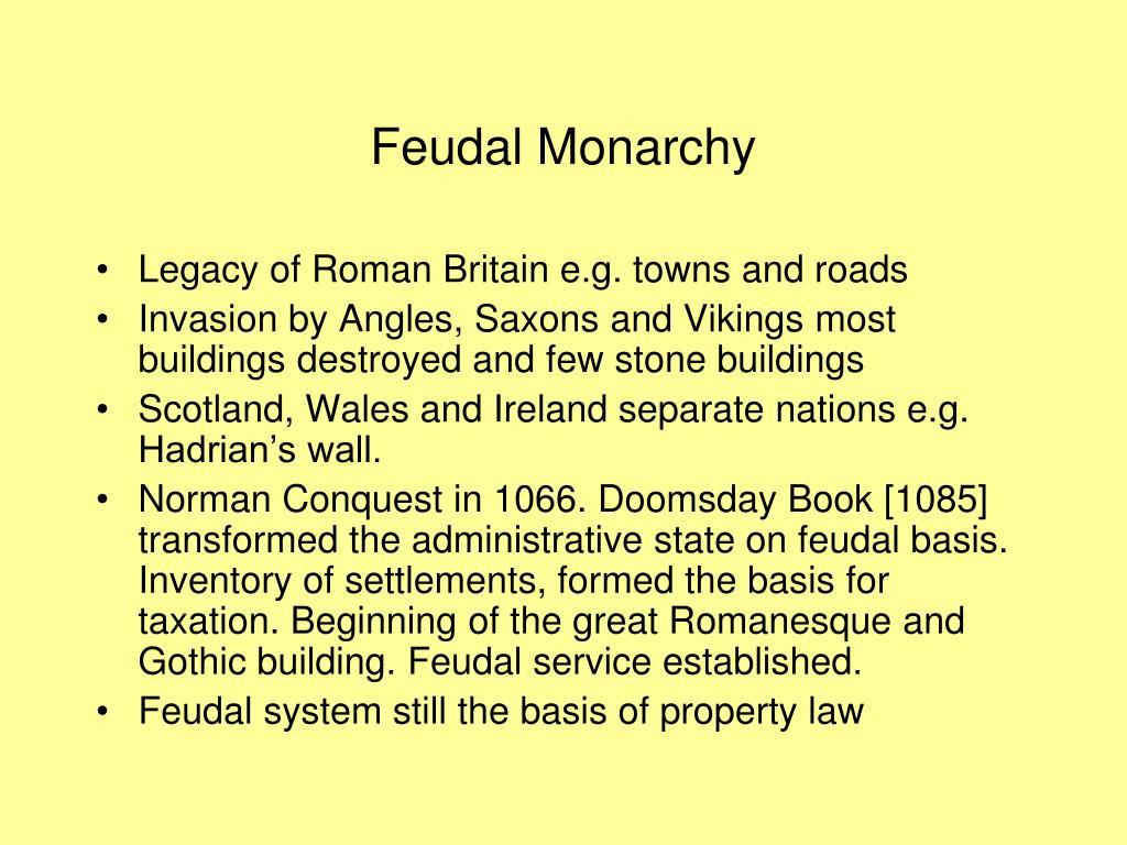 Feudal Monarchy