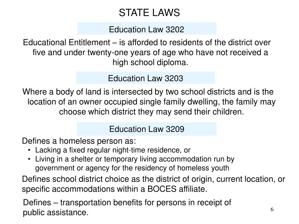 Education Law 3202