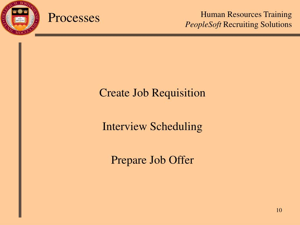 Create Job Requisition