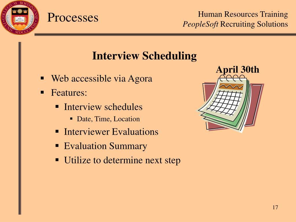 Web accessible via Agora