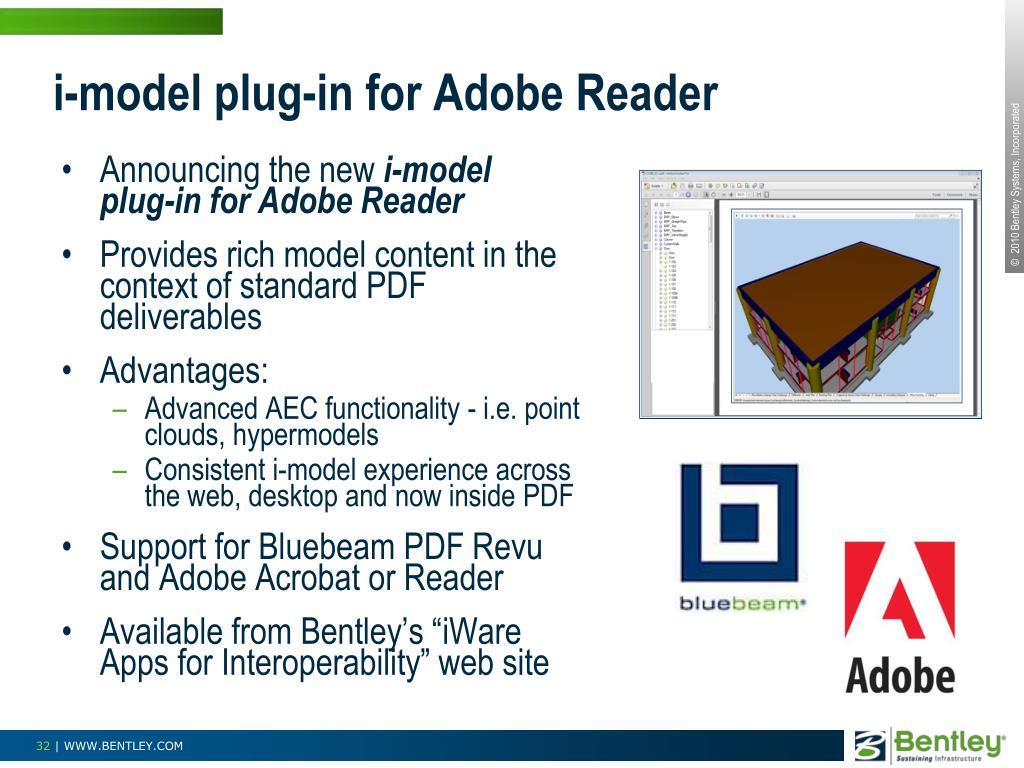 i-model plug-in for Adobe Reader