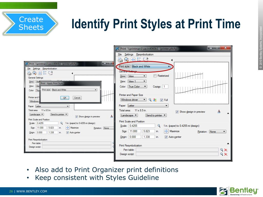 Create Sheets