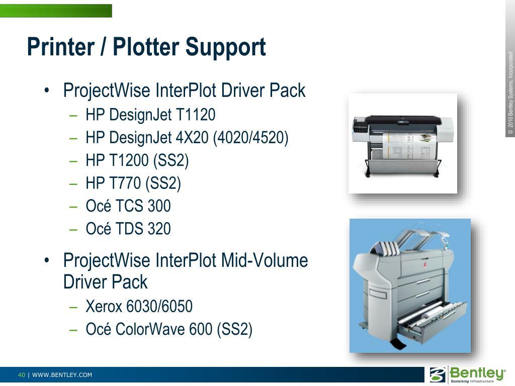 Printer / Plotter Support